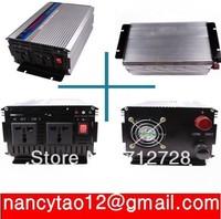 1500 Watt 1500W Boat Car Truck Modified sine wave Power Inverter Change 12V DC to 110V AC