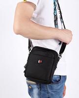 Swiss Army Knife man bag shoulder bag Messenger bag dual pockets of men and women casual oxford cloth parcel shipping