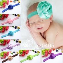 cheap ribbon flower headband