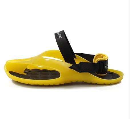 Hot Sale New 2014 Summer Shoes Flat Sandals Men Flip Flops Men Fashion Eva Massage Beach Slippers Shoes Flats Sandalias 40 - 44(China (Mainland))