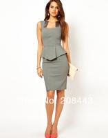 office lady dress saty ropa mujere women moda party pidulikud kleidid robe dame tuxedo bayan elbisesi summer apparel modern wear
