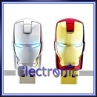 New  Marvel Avengers Movie Iron Man Mark Iv  Usb 2.0 Flash Drive Tony Stark New and Fashion