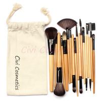 18 pcs Makeup Brushes Set Professional  Makeup Brushes & Tools, With Drawstring Bag