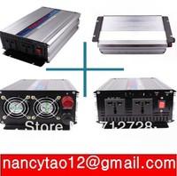 New 2000W Watts Peak 4000W (real 2000w) Power Inverter 12V/24V DC to 220V AC