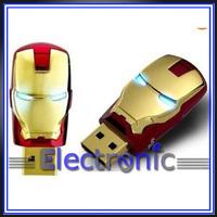 New  Marvel Avengers Movie Iron Man Mark Iv  Usb 2.0 Flash Drive Tony Stark New and Fashion 8GB