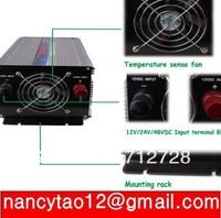 New 2000W Watts Peak 4000W (real 2000w) Power Inverter 24V DC to 220V AC