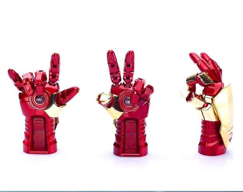 libera vendita di spedizione calda usb flash drive da 32gb 16gb 8gb Iron Man 3 Mark 42 repulsori mano ha condotto la luce