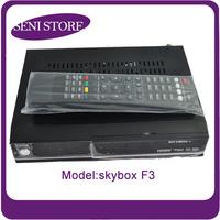2 pcs/lot EMS/DHL100% Original Skybox F3 Satellite receiver Dual-Core CPU Full HD DVB-S2 MPEG4 PVR