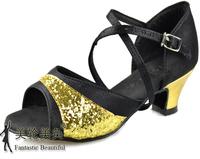 Nagle Latin dance shoes child Latin dance shoes Latin dance shoes isointernational shoes dance Latin shoes satin paillette