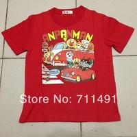 ANPANMAN boy's tees shirts t-shirts kids tshirts stripe girls tshirt children's tops blouses outfits jumpers garments
