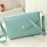 Bags 2014 female summer fashion peach heart small bag messenger bag one shoulder cross-body women's bags
