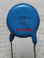 Free Shipping 20pcs 20KV 2200PF 222 High Voltage Ceramic Capacitor