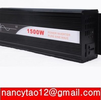 1500VA PURE SINE WAVE INVERTER (24V DC 120VAC 230VAC 3000W 3KW PEAKING) Door to Door Free Shipping