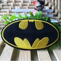 30pcs Batman Iron-On Patch Embroidery  Appliques Patch Cartoon patch, 30pcs/lot wholesale,Free shipping
