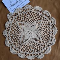 Wedding Decoration 12Pcs/Lot Wholesale  Cotton Handmade Crochet Doily Cup Mat Crochet Applique White/Beige Coaster Free Shipping