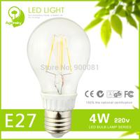 Free Shipping Hot Sale High Brightness 4w LED Filament Bulb Light Qualified Warm White E27 LED Bulb 48% OFF (20 pcs or more)