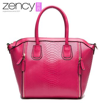 2015 Новый стиль крокодил ручная роспись из натуральной кожи OL женская сумка, мода женщин сумка, сумки на ремне с большой кошелек сумка