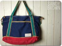 2014 NEW ARRIVAL beautiful canvas handbag 2 ways Leisure bag