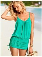 S M L New fashion plus size sexy women one piece swimwear lady girls one-piece swimwears beachwear swimming wear