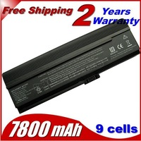 NEW 9 CELL Laptop Battery CFor Acer Aspire 3030 3050 3200 3600 3680 5050 5500 5504 5570 5570Z 5580 black 7800mah +Free Shipping
