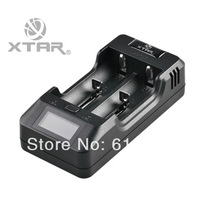 XTAR VP2 with USB Output and LCD Screen Multi-function Charger