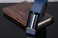 Korean casual smooth custom leather belt buckle belt men belts Women's Belts Genuine A077
