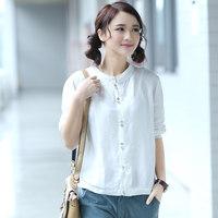 Free Shipping Cy763 spring women shirt top basic shirt long-sleeve shirt female