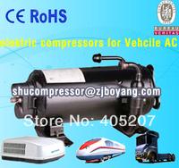 R410a Automotive electric compressor for air conditioner of van a/c motor home mobile hourse caravan