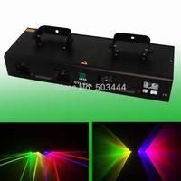 Hot Selling 360mW RGYP 4 Lens DMX DJ laser lighting party disco stage lights