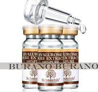 Schnaphil Hyaluronic Acid Liquid10ml X 3 Bottles Snail Pure Extract Moisturization Whitening Rejuvenation Face Care Cream Serum