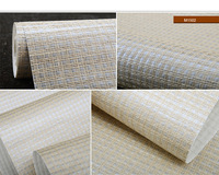 paper-weave wallpaper M1501/02/03 for home decor office decoration hotel high-classic club decor office shop decor