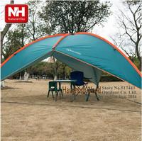 Naturehike  super spacious silver coated anti violet sunscreen triangular large beach tent sky pergola  awning canopy beach tent