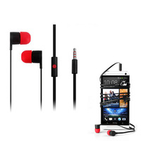 New Arrival Original MAX300 3.5mm In-Ear Headphones Earphones Headset For HTC black color