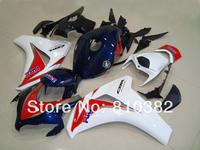 Injection Molded Fairing kit for HONDA CBR1000RR 08 09 CBR1000 CBR1000RR 2008 2009 TOP Red white cyan ABS Fairings set ZF12