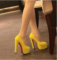 DS A6070-1 women's new arrived pumps high-heeled shoes thick heel platform pumps spring 2013