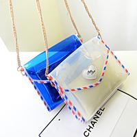 2014 women's handbag mini transparent jelly bag candy steamed stuffed bun crystal bag small cross-body bags