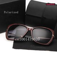 2014 fashion new women's star models big box UV polarized sunglasses 6528 brand designer polarized sunglasses for women