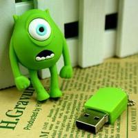 Wholesale U Disk pen drive one-eyed monster university 4GB/8GB/16GB/32GB usb flash drive flashdrive memory stick pendrive