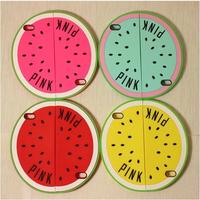 New Arrival Victoria/'s Pink Secret Unique Watermelon Silicone case For Iphone 5 5s 6 colors soft rubber cover wholesale