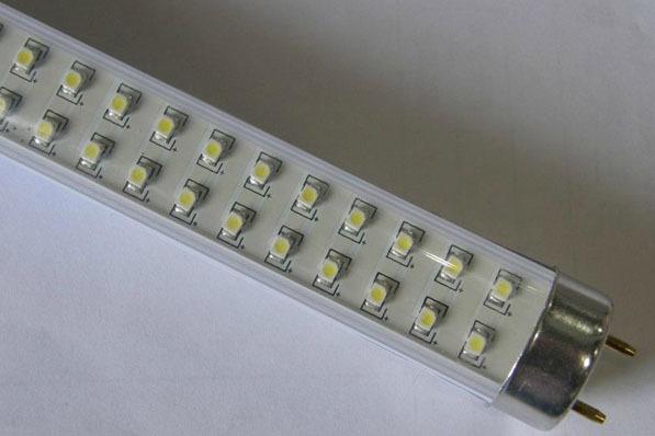 Free shipping 2350lm 220V 60cm 10W T10 led tubes warm white/white led fluorescent tubes 3528SMD 2pcs / lot(China (Mainland))