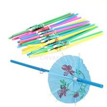 umbrella straw promotion
