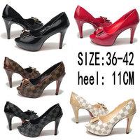 5Colors New 2014 hot selling lady's Sexy High Heels Peep Toe sweetness High Heels Pumps Wedding sandals Shoes Eur Big Size 36-42