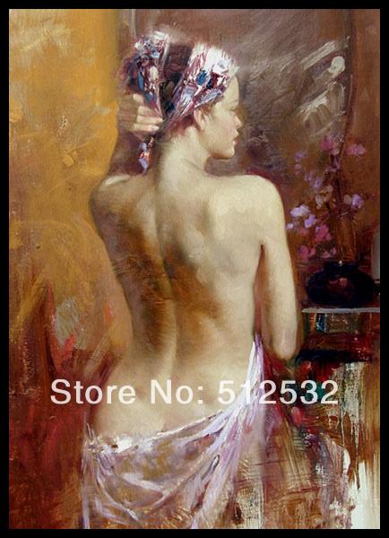 Nuas Pintura Espelho Da Parede Desconto R Plicas Arte Em