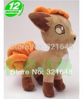 Pokemon Vulpix fox  Super cute Plush Doll Gifts given to children