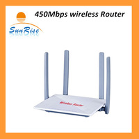 Free Shipping for 450Mbps Wireless AP Router with 4*5 antennas with Long distance Use at home &office
