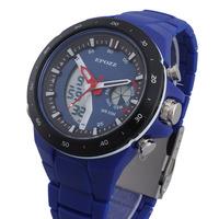New 2014 Watch Brand EPOZZ Sports Waterproof Date Day Alarm Week Military Watch For Men Male Boy Students Fashion Quartz Relogio