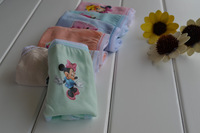 Wholesale Girl Minnie Briefs Children Underwear Pants Kid's Cartoon Mickey Briefs 6 Colors/Bag 6 Sizes Available Free Shipping