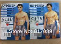 Free shipping Male 100% cotton panties plus size 100% cotton boxer panties breathable comfortable stripe panties