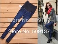 Spring, Autumn Pregnant Women Denim Pants Maternity Jeans WJ82