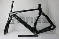 Chinese carbon frame Triathlon bicycle non foldable bike frame Di2 carbon frame TT bike